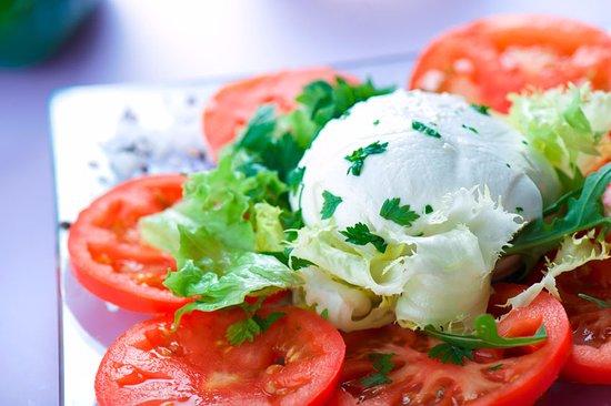L'Union, France : Salade tomates mozzrella