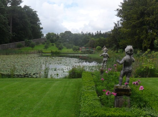 Blair Castle and Hercules Gardens: Hercules Gardens at Blair Castle