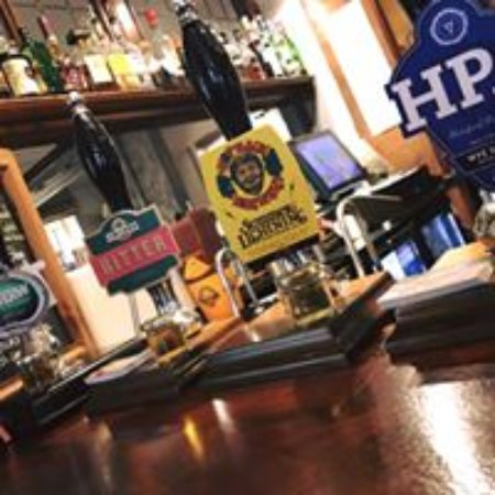 Rossett, UK: rotating casks in this CAMRA Pioneer Pub