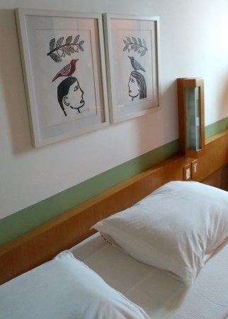 Verdegreen Hotel: Piu-piu na cabeça... ;-)