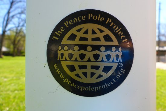 Rockville, UT: Our peace pole is part of the global peace pole project.