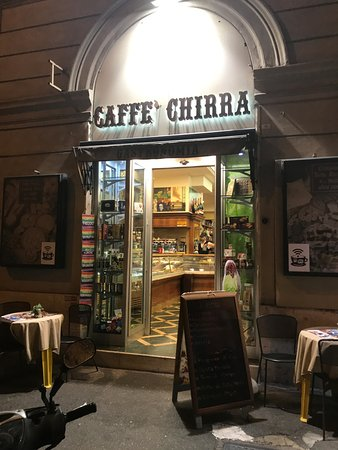 Hotel Impero: Caffe Chirra around the corner