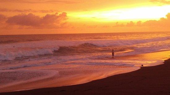 Playa Hermosa, Costa Rica: Sunset