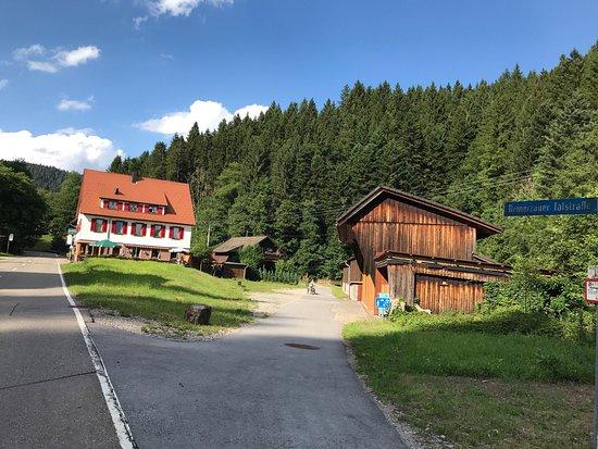 Schenkenzell, Tyskland: Silbersee wie im Bilderbuch ! In Reinerzau auf der Reinerzauer Talstrasse.