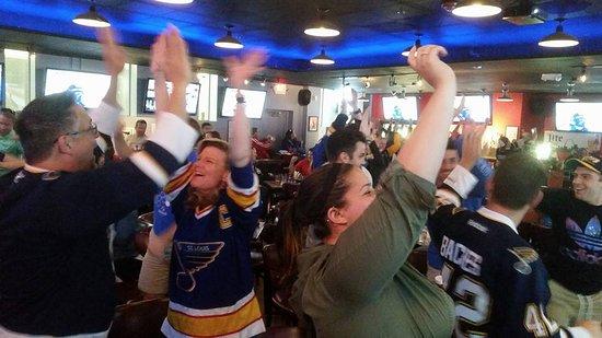 Creve Coeur, MO: Blues Playoffs!