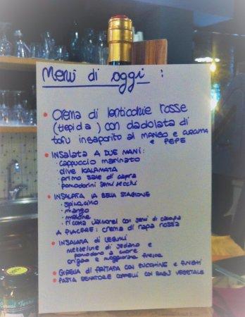 Quinto di Treviso, Itália: Menu del 20 luglio 2017