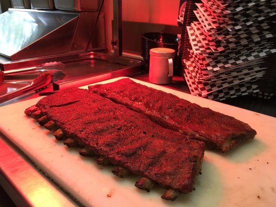 Bullies : Our Memphis Style dry rub ribs on Special Wednesday's