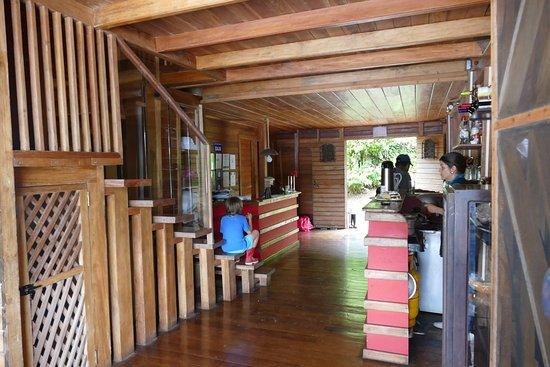 El Castillo, Nicaragua: Reception and kitchen
