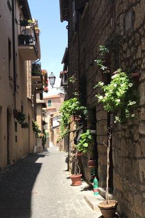 Tuscany Car Tours: Streets of of Orvieto