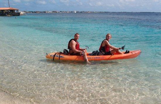Kralendijk, Bonaire: Kayak tours are available
