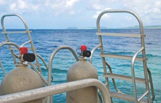Kralendijk, Bonaire: View from the stern of the Harbour Queen