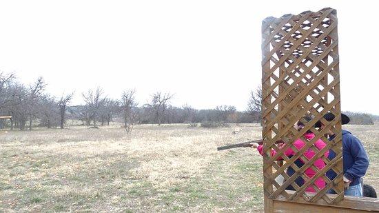 Graham, TX: skeet shooting