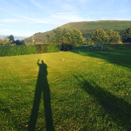 Abergavenny, UK: So many places on the grounds to sit and relax