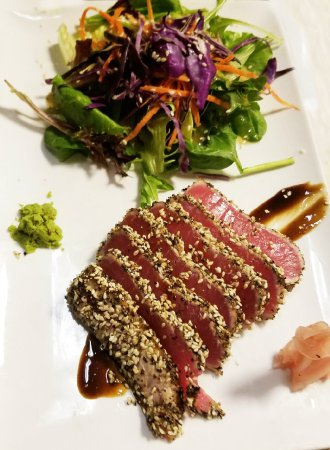 Lexington, SC: SEARED BLUEFIN TUNA