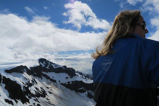 Hofn, Island: En el pico