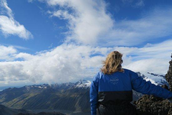 Hofn, Island: Disfrutando de las vistas