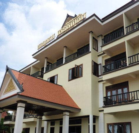 Banlung, Camboja: Hotel in ruhiger Lage