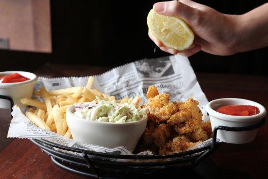 Blaine, MN: Cajun Shrimp Basket