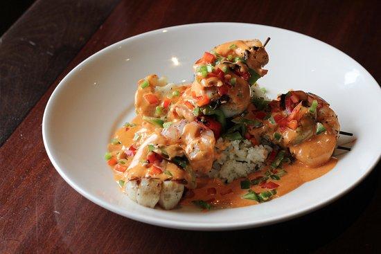 Blaine, MN: Shrimp & Scallop Skewer