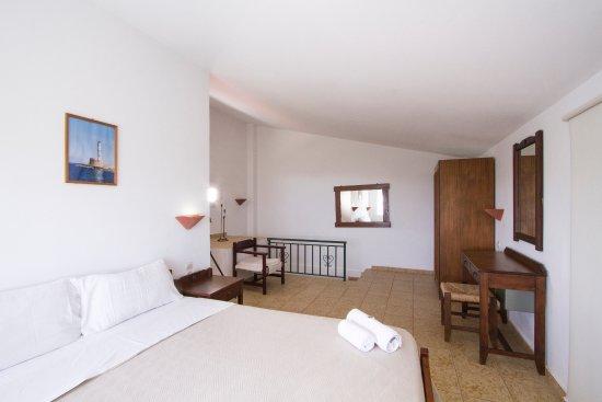 Kaliviani, Griekenland: Duplex Apartment #5, upper bedroom