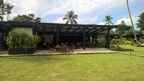 Paradise Taveuni: Dining is outdoors - Hey it's Fiji!