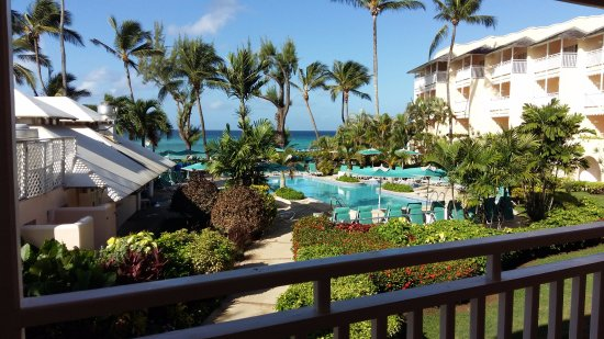 Dover, Barbados: view from room 223