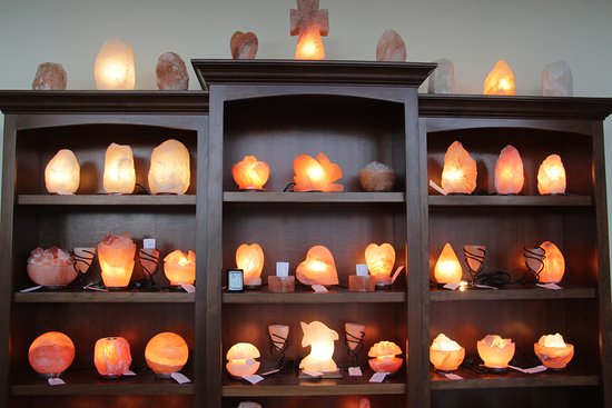 Naperville, IL: crafted and natural salt lamps
