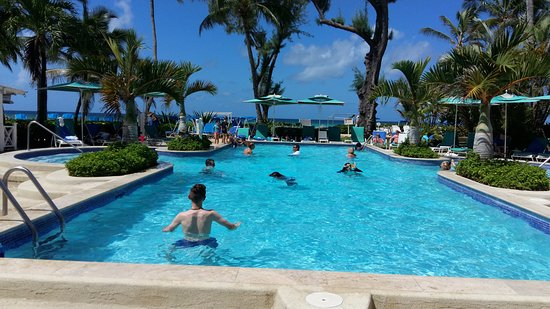 Turtle Beach by Elegant Hotels: one of the swimming pools
