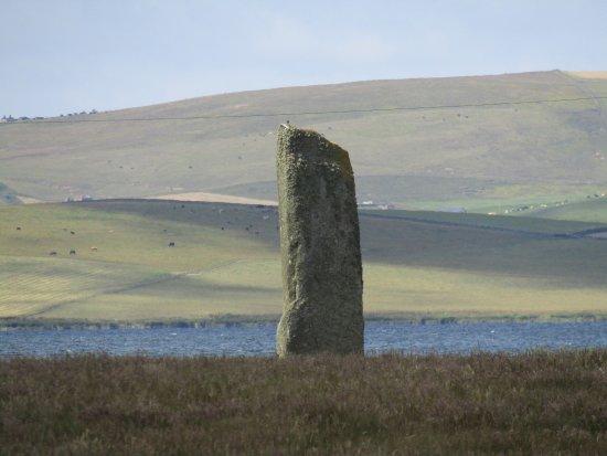 Stenness, UK: the watch stone