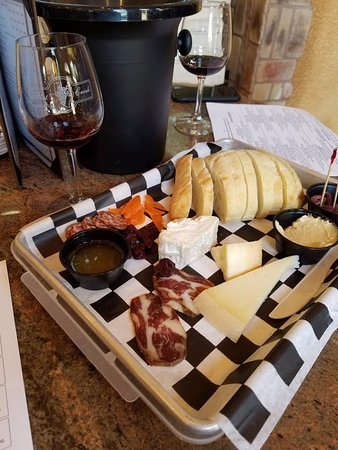 Marble Falls, TX : Cheese and Meat Platter