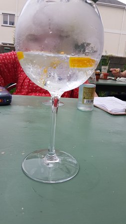 Mortehoe, UK: Gin! One of many!