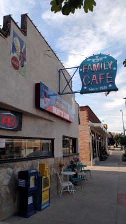 Bert's Cafe Downtown Brigham City, Utah