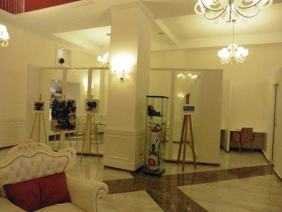 Hotel Oriente : La hall