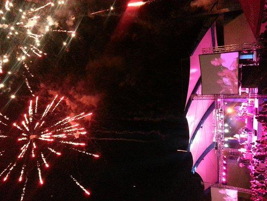 Malecon Puerto de la Libertad : Conciertos en el Malecon