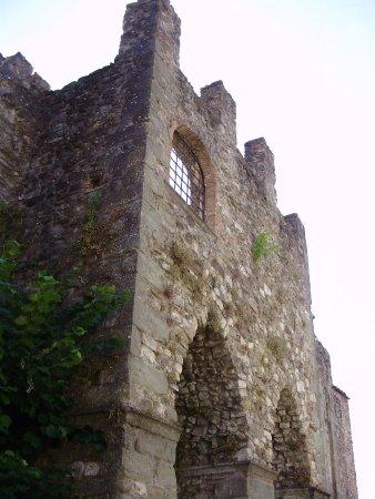 Villafranca in Lunigiana, Italy: Un lato del castello