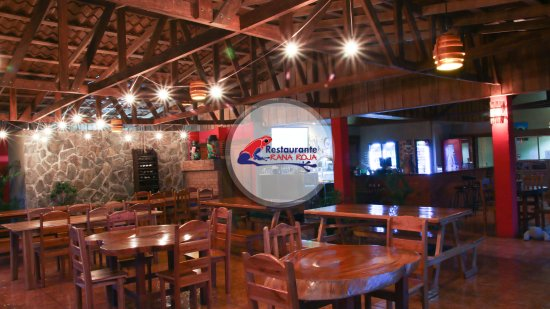 Image result for restaurante rana roja la fortuna