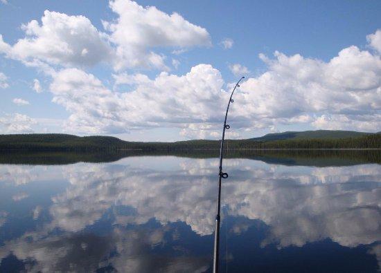 Fort Nelson, Canada : Fishing - Muncho Lake