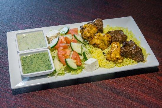 Chambersburg, PA: Lamb and Chicken Kabab