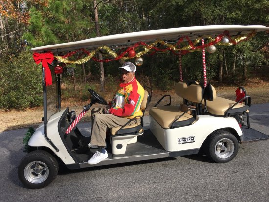 Christmas Fun in the Bluffton SC Parade!