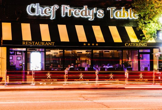 "Morristown, Nueva Jersey: CHEF FREDY""S TABLE"