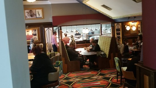 Bexhill-on-Sea, UK: Dining zone of the Picture House, Bexhill On Sea