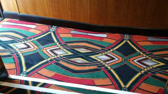 Bexhill-on-Sea, UK: Picture house carpet decor