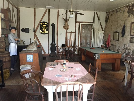 New Braunfels Conservation Society: Saloon