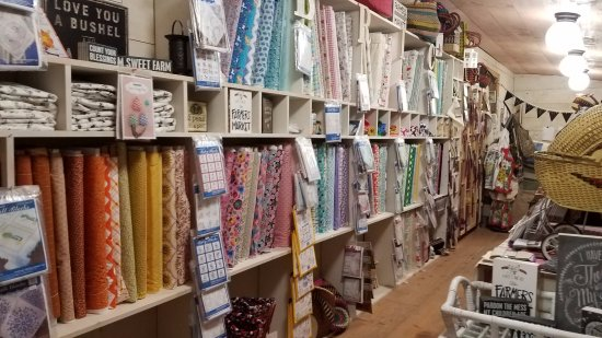 Bakersville Pioneer Village: Fabric available