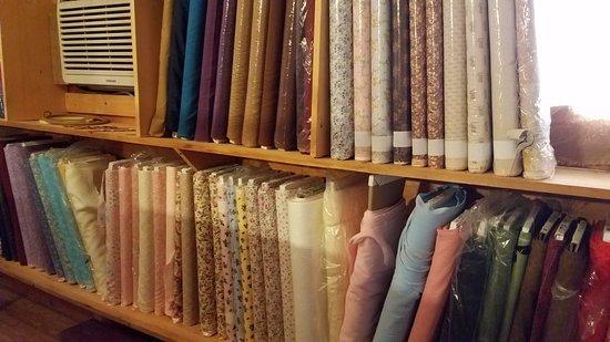 Bakersville Pioneer Village : more fabric