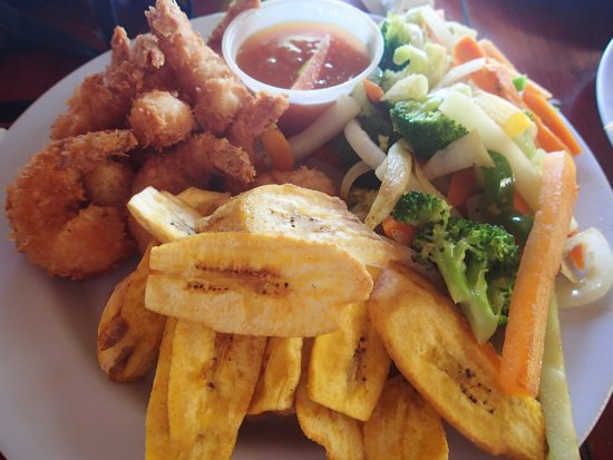 Thirsty Turtle Bar and Grill: coconut shrimp