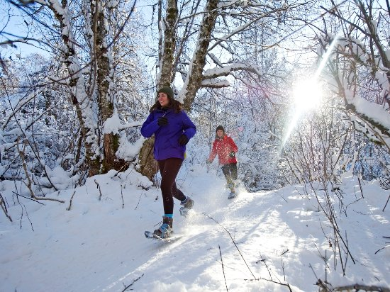 Snowshoeing in Whistler Photo by David McColm