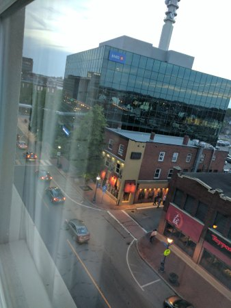 Residence Inn by Marriott Moncton: View from top floor