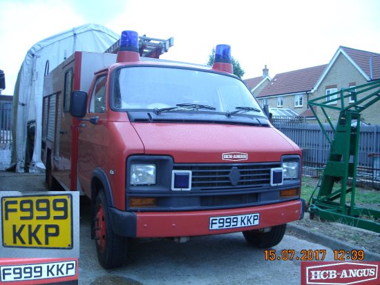 Whitfield, UK: F999 KKP Fire Engine