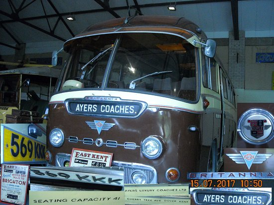 Whitfield, UK: 569 KKK Ayers Coaches